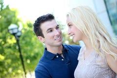 有吸引力的夫妇爱 图库摄影