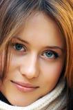 有吸引力的女孩年轻人 免版税库存图片