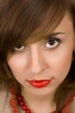 有吸引力的妇女年轻人 免版税库存照片