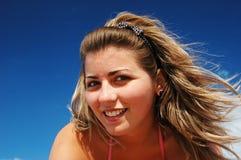 有吸引力的妇女年轻人 库存照片