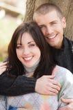 有吸引力的新夫妇 免版税库存照片