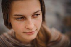 有吸引力的纵向妇女年轻人 免版税库存照片