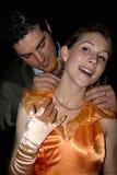 有吸引力的美丽的夫妇年轻人 免版税图库摄影