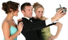 有吸引力的formals人年轻人 库存图片