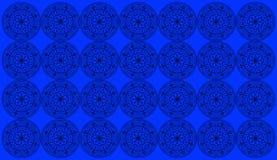 有圆的花卉坛场的无缝的样式瓦片 回教,瑜伽,阿拉伯,印度,无背长椅主题 为打印完善在织品或 图库摄影