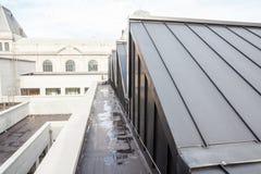 有圆顶的屋顶平台 免版税库存图片