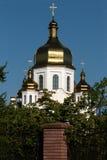 有圆顶的教会 图库摄影