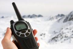 有声电影walkie 库存照片