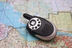 有声电影walkie 免版税库存照片