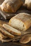 有壳的自创Ciabatta面包 免版税库存图片
