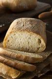 有壳的自创Ciabatta面包 图库摄影
