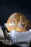 有壳的面包 免版税图库摄影