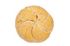有壳面包的小圆面包 免版税库存照片