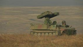 有大炮的军用机器 影视素材