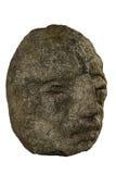 有大鼻子的雕象头 免版税库存照片