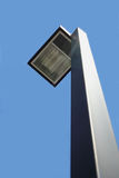 有天空的灯 免版税图库摄影