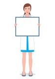 有委员会的女性医生 免版税库存照片