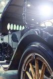 有定调子和光的样式古董车 库存图片