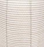 有导线结构的现代白皮书灯装饰的 库存照片
