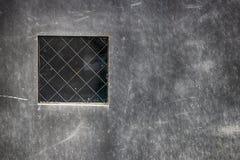有小窗口的抽象钢板 库存照片