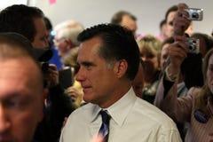 有希望的露指手套总统romney 库存照片