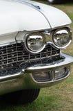 有幅射器的经典汽车 库存照片