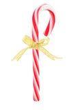 有弓丝带的棒棒糖 免版税库存照片