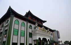 有微型尖塔和塔建筑学的北京中国中国式清真寺 免版税库存照片