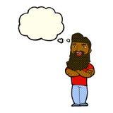 笑有想法泡影的动画片有胡子的人.图片