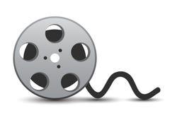 有戏院磁带的-传染媒介电影卡式磁带 库存例证