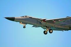 有战略意义111架轰炸机f的海市蜃楼 免版税库存图片