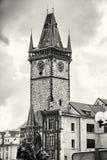 有扬・胡斯纪念品的老城镇厅在布拉格,捷克共和国, c 库存图片