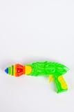有抽陀螺的玩具枪 库存图片