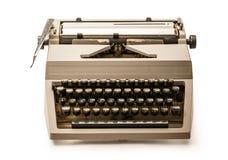 有拉丁字母的打字机 库存图片