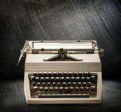 有拉丁字母的打字机 库存照片