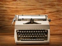 有拉丁字母的打字机 免版税图库摄影
