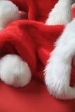 有拷贝空间的圣诞老人帽子 库存照片
