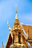 有排列的寺庙 免版税库存照片