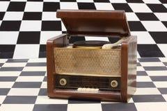 有收音机的克球员 库存图片