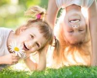 有效的孩子 免版税库存图片