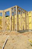 有效的建筑住宅站点 图库摄影