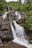 有数百美丽的瀑布在斯堪的那维亚 图库摄影