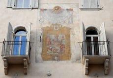 有日规和绘画的宫殿 库存照片