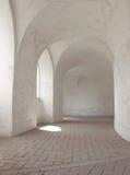 有有圆顶曲拱的走廊 图库摄影