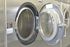 洗涤Machiine的Washday 免版税库存图片