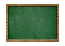 有木制框架的老黑板 库存图片