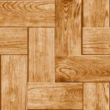 有木木条地板Floo的数字表示法的无缝的瓦片 皇族释放例证
