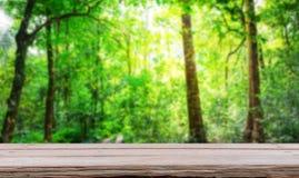 有木板条的森林 免版税库存图片