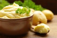 有机土豆泥 图库摄影