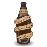 有机家酿啤酒 免版税库存照片